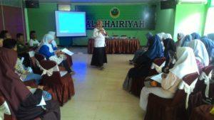 Bekali Pemahaman P4GN, BNN Kota Cilegon Latih Duta Pelajar Anti Narkoba